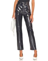 Agolde Recycled leather 90's pinch waist - Multicolor