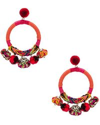 Nannacay - X Revolve Hera Earrings In Orange. - Lyst