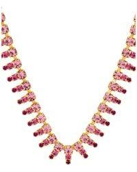 Elizabeth Cole Drew Necklace. - Mehrfarbig