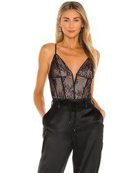 Cami NYC Eve Bodysuit - Schwarz