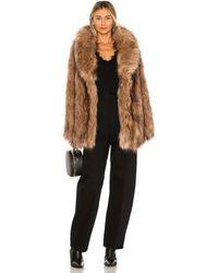 Unreal Fur - Куртка Fascination В Цвете Мокко - Lyst