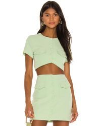 Song of Style Gala Top - Green