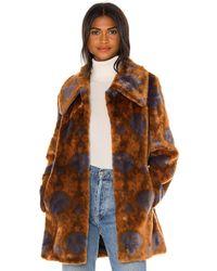 Unreal Fur Nostalgia Coat - Brown