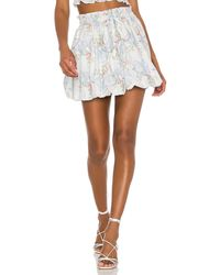 LoveShackFancy Minifalda cheyenne - Multicolor