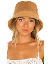 Lack of Color Wave Terry Bucket Hat - Weiß