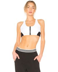 All Fenix - Zipper Sports Bra - Lyst