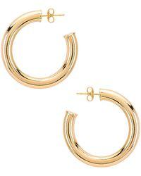 Natalie B. Jewelry - Серьги-кольца Adina В Цвете Золотой - Lyst