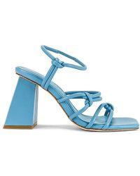 Song of Style Noelle Heel - Blue