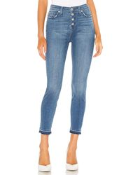 7 For All Mankind The High Waist スキニーデニム. Size 30. - ブルー