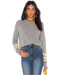 27milesmalibu - Milicent Sweater In Gray - Lyst