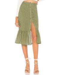 Tularosa - Molina Skirt In Green - Lyst