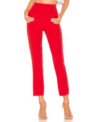 Lovers + Friends Tempo Skinny Pants - Rot