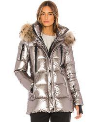 Sam. Millennium Puffer Jacket - Metallic