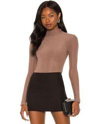 Nbd Shanaya Bodysuit - Brown