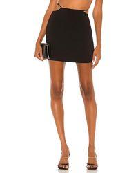 Nbd Tiago Mini Skirt - Black
