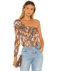 House of Harlow 1960 X REVOLVE Flora Top - Mehrfarbig