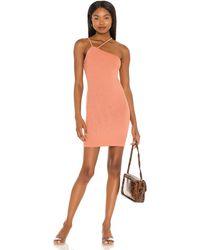Enza Costa Strappy Mini Dress - Black