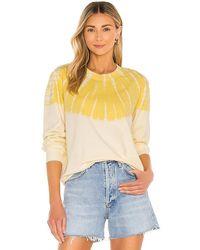 Raquel Allegra Classic Sweatshirt - Yellow