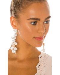 Ranjana Khan Pearl Drop Earrings - White