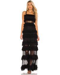 Alexis Amaryllis ドレス - ブラック