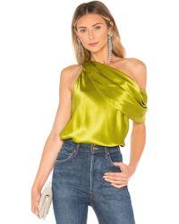 Alix - Maiden Bodysuit In Green - Lyst