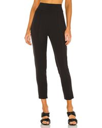 ATM High Waisted Stretch Trousers - Black