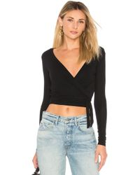 Only Hearts - Long Sleeve Wrap - Lyst