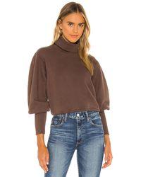 Agolde スウェットシャツ - ブラウン