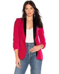 Alice + Olivia - Macy Fitted Blazer In Pink - Lyst