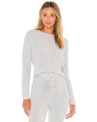 MAJORELLE Georgia Crew Sweater - Grau