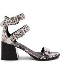 Sigerson Morrison - Apple Sandal In Cream - Lyst