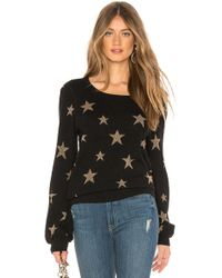 Chaser PULL SWEAT GOLD STAR - Noir