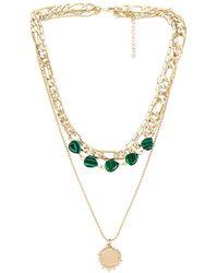 8 Other Reasons Collar matcha - Verde