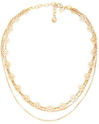 Vanessa Mooney - The Audrey Necklace In Gold. - Lyst