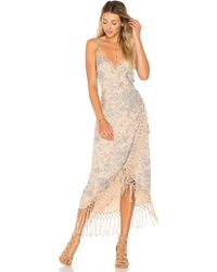 House of Harlow 1960 - X Revolve Sonya Dress In Nude - Lyst