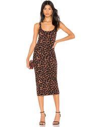 LPA Emelie ドレス - ブラウン