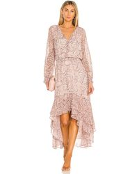 1.STATE High Low Dress - Multicolor