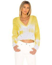 superdown Willa V Neck Sweater - Gelb
