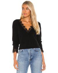 Generation Love Aleyna Lace Sweater - Black