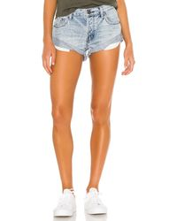 One Teaspoon Bandits Denim Short - Multicolour