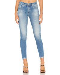 AG Jeans Farrah スキニーデニム. Size 27. - ブルー