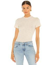 Theory Camiseta tiny - Blanco