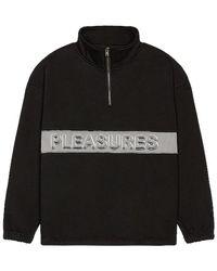Pleasures Decline Quarter Zip - Black