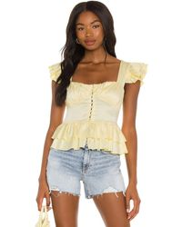 Ow Intimates Misty Top - Yellow