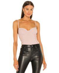 AllSaints Yuni Rib Bodysuit - Mehrfarbig
