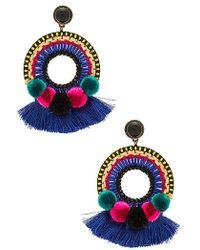 Nannacay - Nix Earrings In Royal. - Lyst