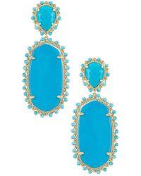 Kendra Scott Parsons Earring - Blue