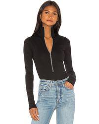 Marissa Webb - Zip Front Bodysuit - Lyst