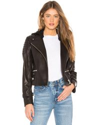 A.L.C. - Knight Leather Jacket - Lyst