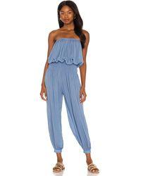 Indah Seychelles jumpsuit - Azul